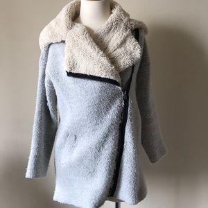 Sherpa lined sweater jacket 2/4